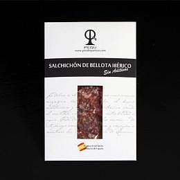 100 Gramm SALCHICHON IBERICO BELLOTA 6@, SALCHICHON von iberischen Schweinen